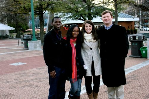 Shannon, Barin, Tola and I